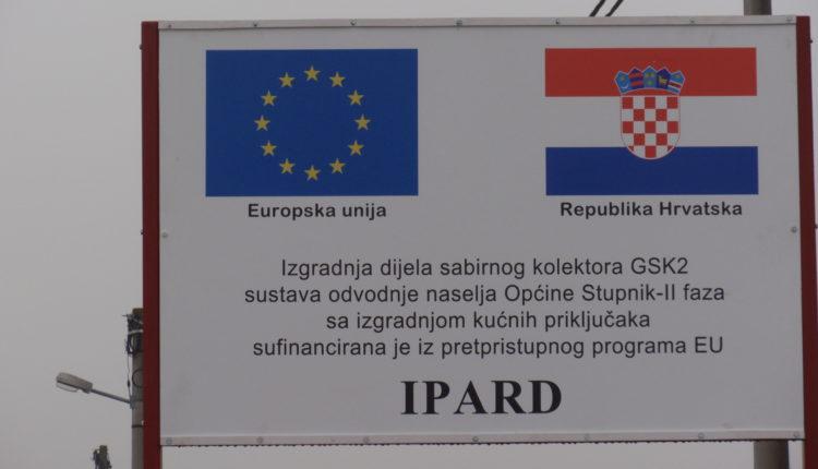 Općini Stupnik 3.9 milijuna kuna iz IPARD-a