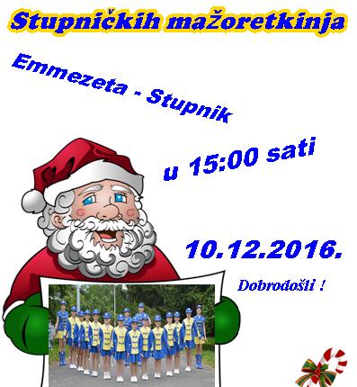 Božićno koncert Stupničkih mažoretkinja