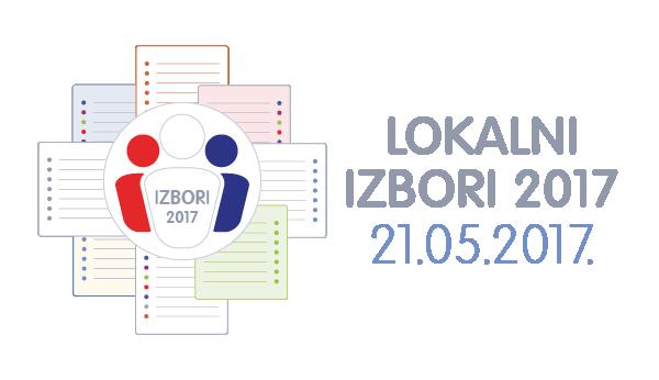 OBJAVA BIRAČIMA – LOKALNI IZBORI 2017.